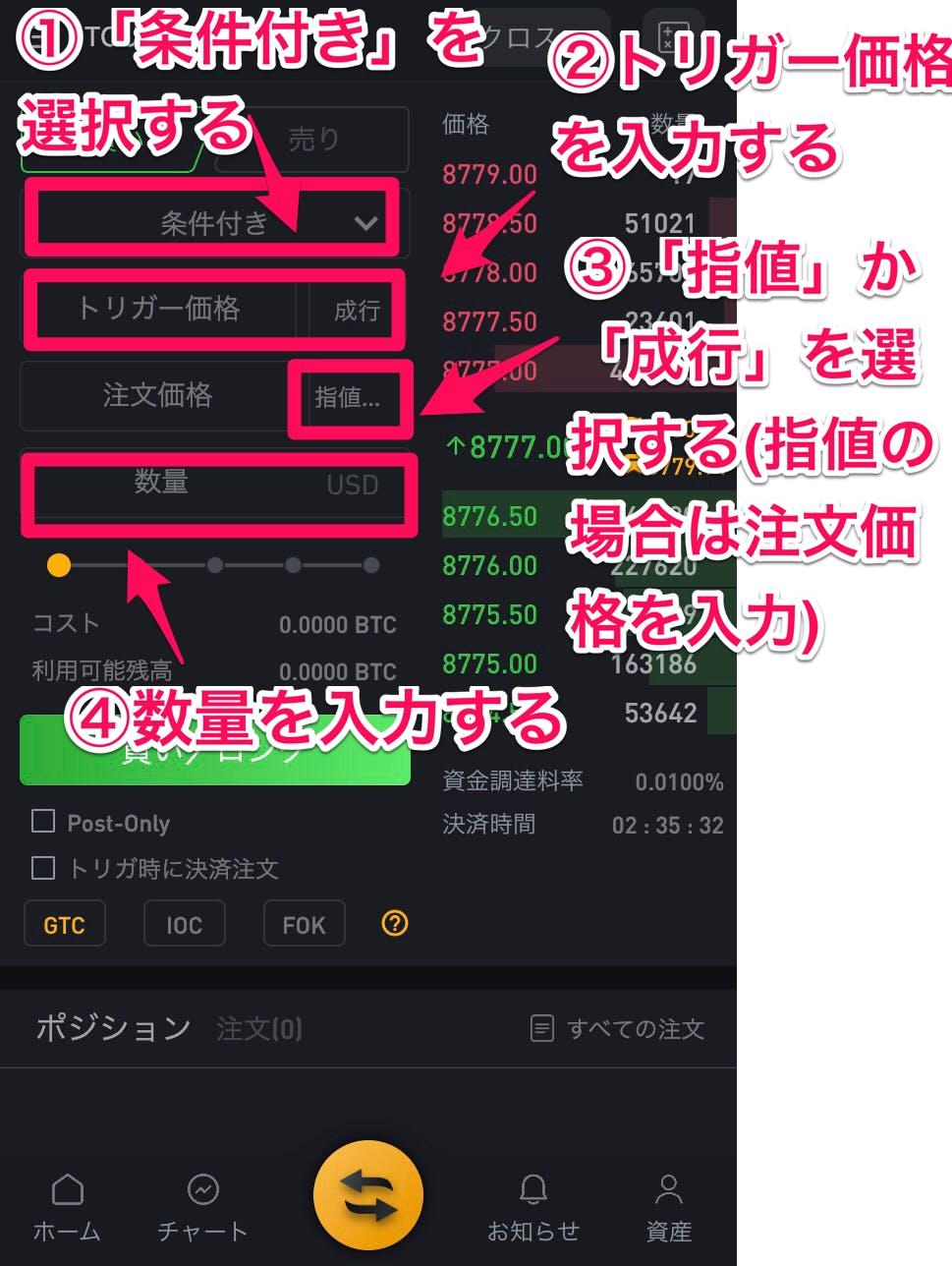 bybit スマホアプリ